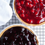 No-Bake Cherry Cheesecake Pie