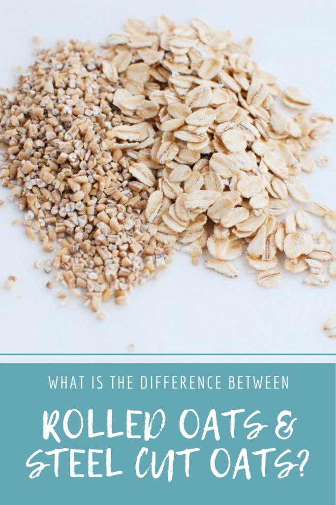Rolled oats vs steel cut oats