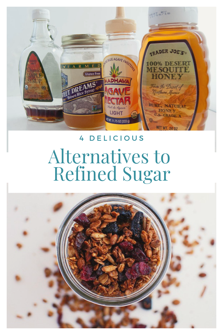 4 delicious alternatives to refined sugar
