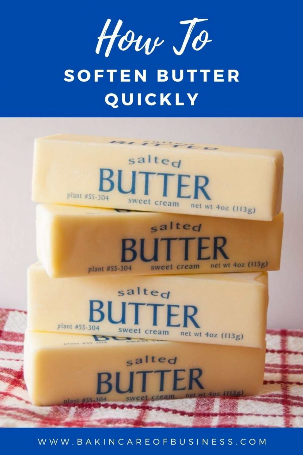 how to soften butter quickly(1)