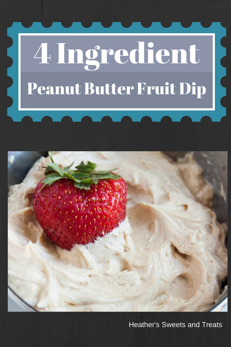 4 ingredient fruit dip