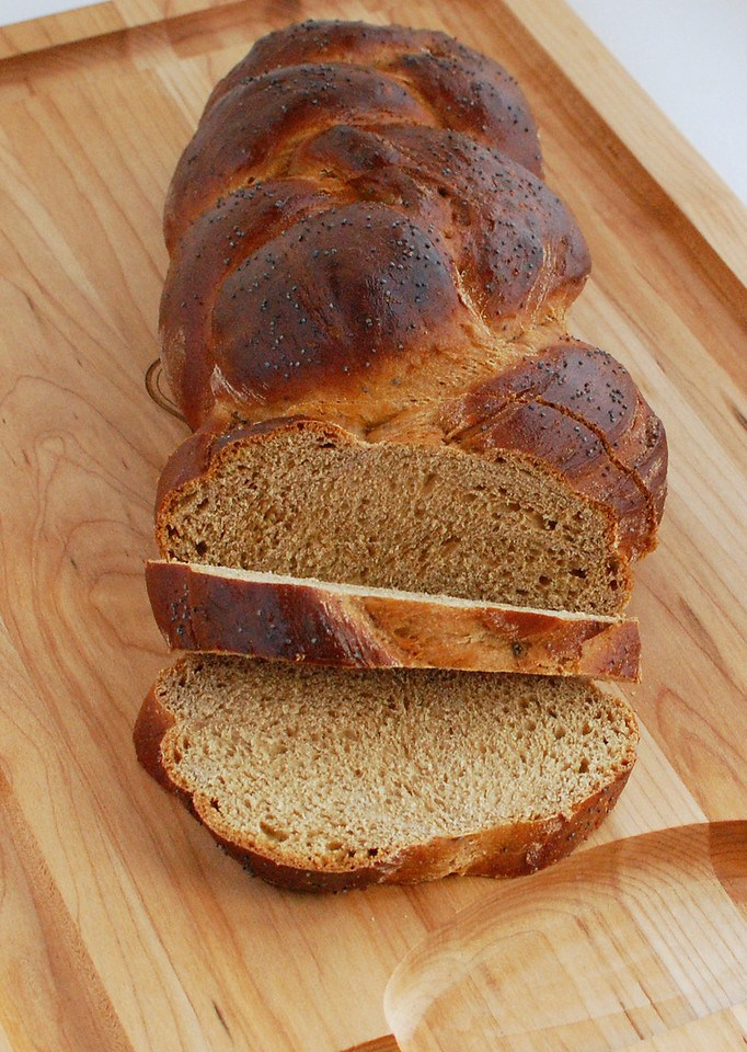Loaf of Whole Wheat Challah
