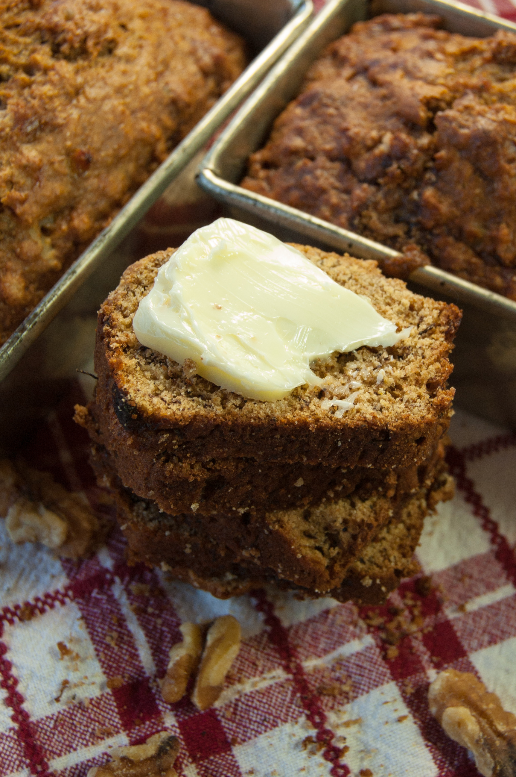 Whole Wheat Browned Butter Banana Bread