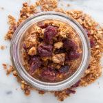 simple granola with no refined sugar