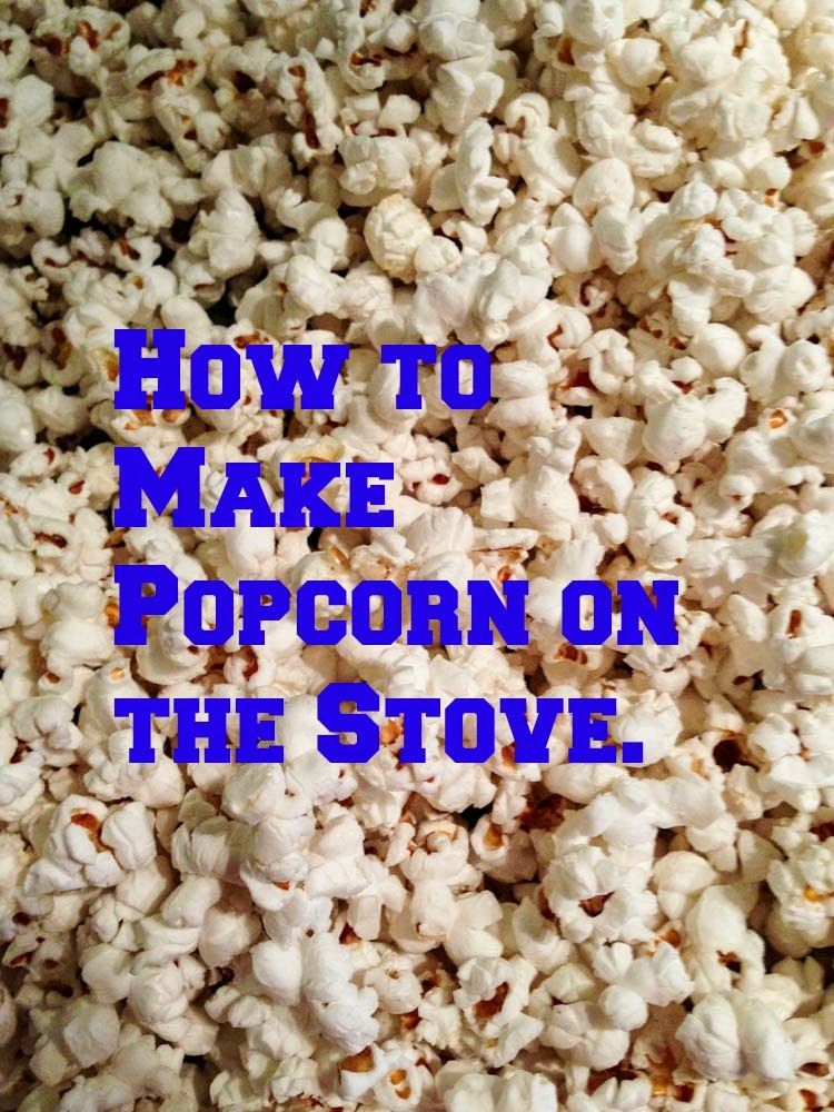 Step-by-Step how to make popcorn on the stove