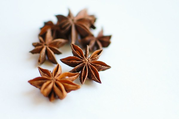anise stars for chai tea concentrate