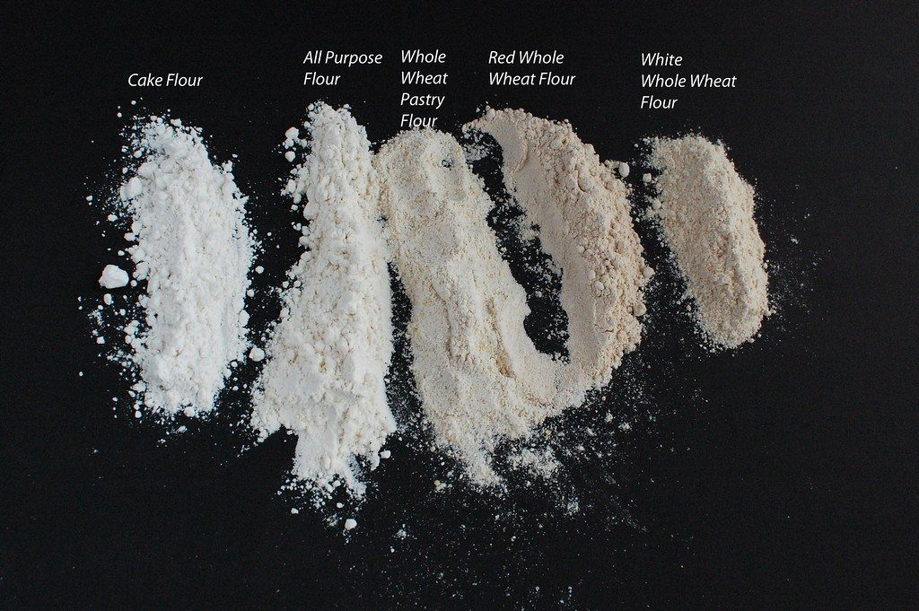 kinds of flour