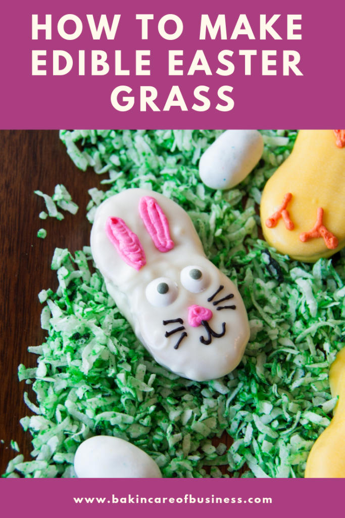 how to make edible easter grass