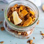 homemade tropical granola