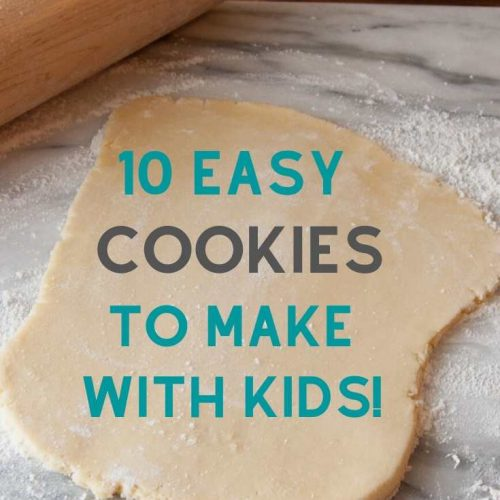 10 easy cookies to make with kids