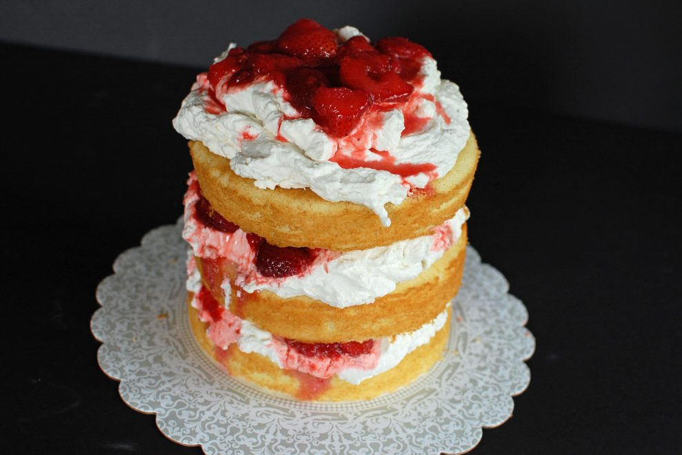 Strawberry-Tall-Cake