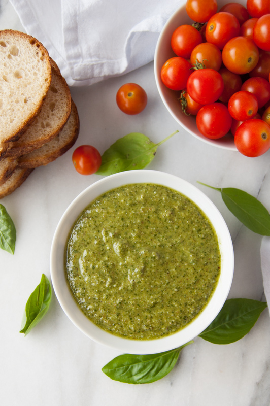 Walnut Basil Pesto