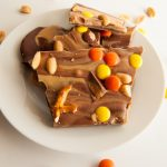 sweet and salty peanut butter bark